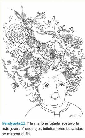 http://www.abuelas.org.ar/muestras/twitter/twitter14.htm Texto: Andrea Pérez Casas Ilustración: Mirian Luchetto