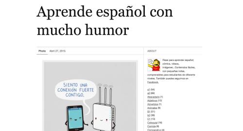 http://espanolconhumor.tumblr.com/