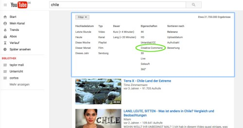 youtube-lizenzfilter
